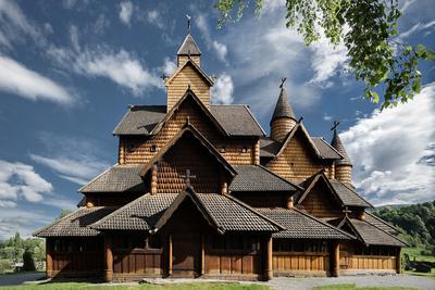 Stave church - Heddal I