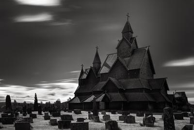 Stave church - Heddal V