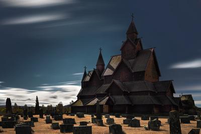 Stave church - Heddal III